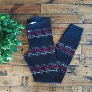 🆕 Fair Isle Thermal Leggings